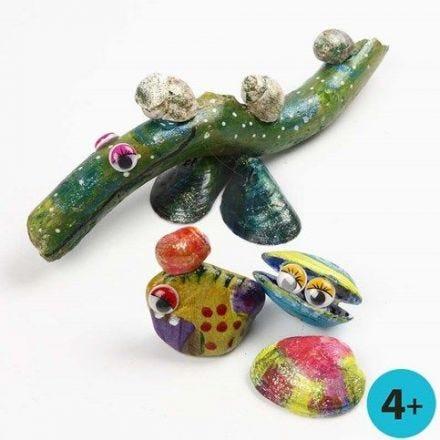 Peinture pour verre A-Color sur matériaux naturels