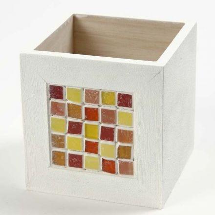 Blyantsholder med mosaik