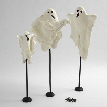Fantômes phosphorescents en Silk Clay