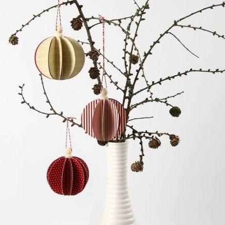 Une boule de papier à assembler de chez Vivi Gade Design