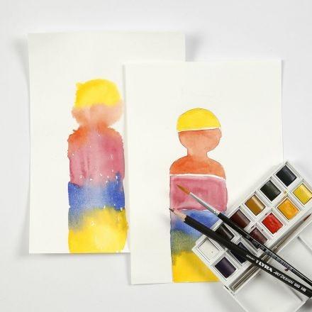 Blocs d'aquarelle