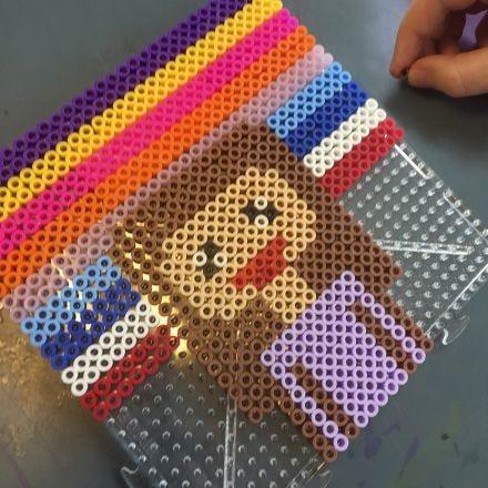 Pixel Art avec des perles à repasser Nabbi
