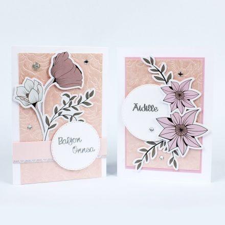 Hempeät kukkakortit