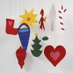Décorations de Noël à faire par les enfants