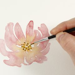 """How to paint with watercolours using the """"wet-on-dry"""" technique"""