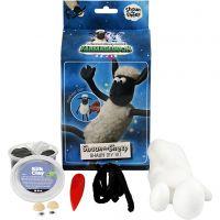 Shaun le Mouton, noir, blanc, 1 set