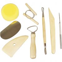 Instruments de sculpture, 8 pièce/ 1 Pq.