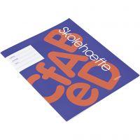 Cahier d'exercices pour l'école, A5, dim. 14,8x21 cm, 64 , 200 pièce/ 1 Pq.