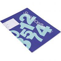 Cahier d'exercices pour l'école, A4, dim. 21x29,7 cm, 64 , 100 pièce/ 1 Pq.