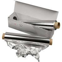 Papier aluminium, L: 30 cm, 150 m/ 1 rouleau