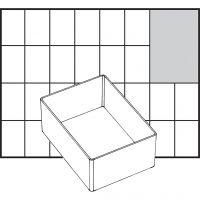 Godet de rangement, dim. A7-1, H: 47 mm, dim. 109x79 mm, 1 pièce