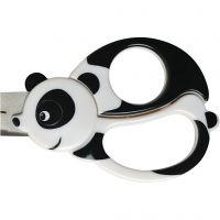 Ciseaux animaux pour enfants, Panda, L: 13 cm, 1 pièce