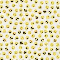 Papier cadeau, Smiley, L: 57 cm, 80 gr, 150 m/ 1 rouleau