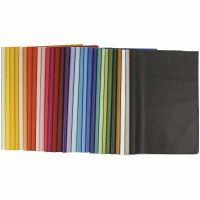 Papier de soie, 50x70 cm, 17 gr, 300 flles/ 1 Pq.