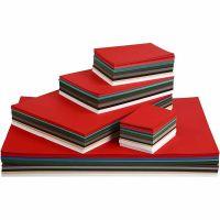 Papier cartonné Noël, A2,A3,A4,A5,A6, 180 gr, couleurs assorties, 1800 flles ass./ 1 Pq.