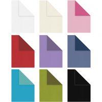Papier structure, A4, 210x297 mm, Le contenu peut varier , 100 gr, couleurs assorties, 30x20 flles/ 1 Pq.