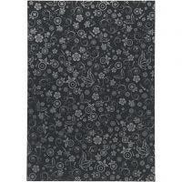 Papier, A4, 210x297 mm, 80 gr, noir, 20 flles/ 1 Pq.