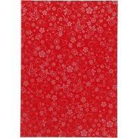 Papier, A4, 210x297 mm, 80 gr, rouge, 20 flles/ 1 Pq.