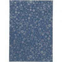 Papier, A4, 210x297 mm, 80 gr, bleu, 20 flles/ 1 Pq.