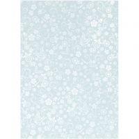 Papier, A4, 210x297 mm, 80 gr, bleu clair, 20 flles/ 1 Pq.