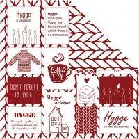 Papier Design, confort et tricot, 30,5x30,5 cm, 180 gr, 5 flles/ 1 Pq.