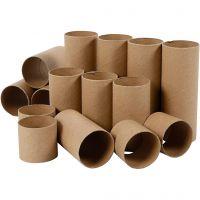 Rouleaux de papier toilette, L: 4,7+9,3+14 cm, 60 pièce/ 1 Pq.