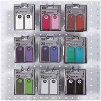 Étiquettes cadeaux, dim. 6x3 cm, 250 gr, 18x20 pièce/ 1 Pq.
