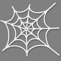 Toile d'araignée, dim. 19x21 cm, 230 gr, blanc, 16 pièce/ 1 Pq.