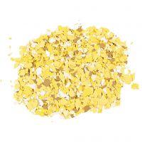 Flocons de Terrazzo, jaune, 90 gr/ 1 boîte