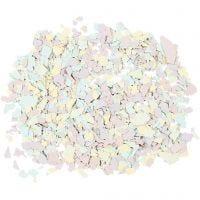 Flocons de Terrazzo, couleurs pastel, 90 gr/ 1 boîte