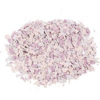 Flocons de Terrazzo, violet, 90 gr/ 1 boîte