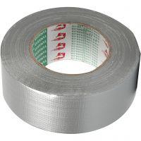 Duct tape, L: 50 mm, argent, 50 m/ 1 rouleau