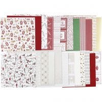 Bloc de papier design, 30,5x30,5 cm, 120+128 gr, 24 flles/ 1 Pq.