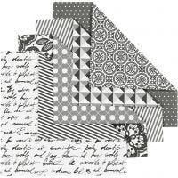 Papier Origami, dim. 15x15 cm, 80 gr, 50 flles ass./ 1 Pq.