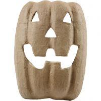 Masque Halloween, H: 21,5 cm, L: 17 cm, 1 pièce