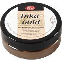 Inka Gold, brown gold, 50 ml/ 1 boîte
