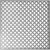 Pochoir, carrés arrondis, dim. 30,5x30,5 cm, ép. 0,31 mm, 1 flles