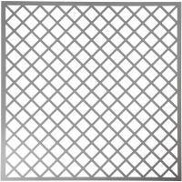 Pochoir, carrés, dim. 30,5x30,5 cm, ép. 0,31 mm, 1 flles