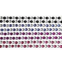 Autocollants, Pierres de strass, L: 15 cm, L: 4 mm, noir, bleu, violet, rouge, 8 flles/ 1 Pq.