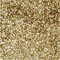 Paillettes Bio, d: 0,4 mm, or, 10 gr/ 1 boîte