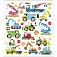 Autocollants, construire des voitures, 15x16,5 cm, 1 flles
