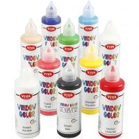 Window Color, couleurs assorties, 10x90 ml/ 1 Pq.