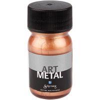 Peinture Art Metal, copper, 30 ml/ 1 flacon