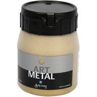 Peinture Art Metal, or clair, 250 ml/ 1 flacon