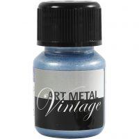 Peinture Art Metal, bleu perle, 30 ml/ 1 flacon