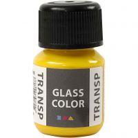 Glass Color transparente, jaune citron, 30 ml/ 1 flacon