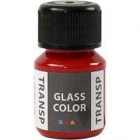 Glass Color transparente, rouge, 30 ml/ 1 flacon