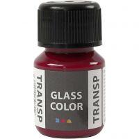 Glass Color transparente, rose, 30 ml/ 1 flacon