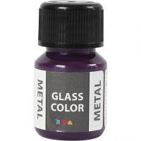 Glass Metal, violet, 30 ml/ 1 flacon