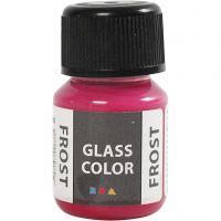 Glass Frost, rouge, 30 ml/ 1 flacon